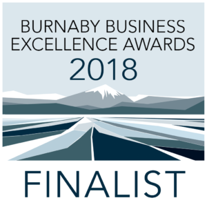 Burnaby Business Excellence Awards 2018 Finalist